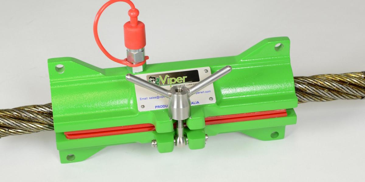 Viper Mini Mk II Wire Rope Lubricator
